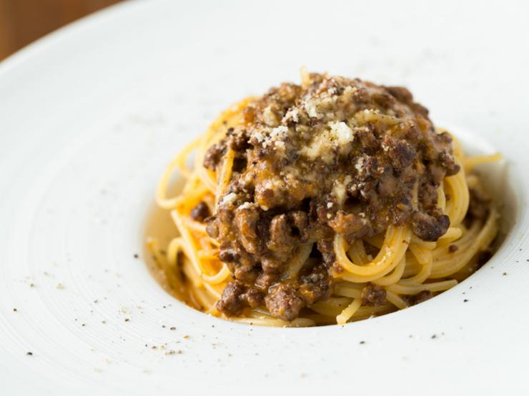 本場イタリアトスカーナ地方のオカンの味牛肉のラグー